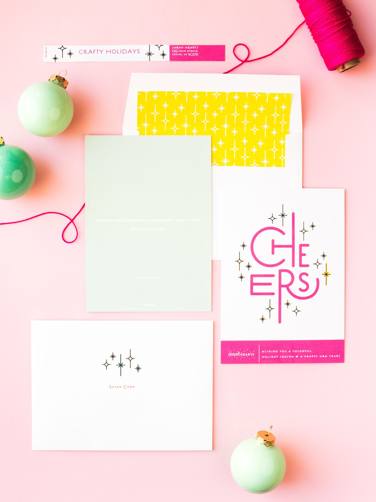 Custom Printed Business Holiday Cards | Business holiday cards ...