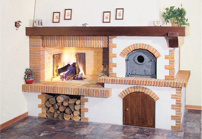 Резултат с изображение за caminetto cucina | Печки | Pinterest ...