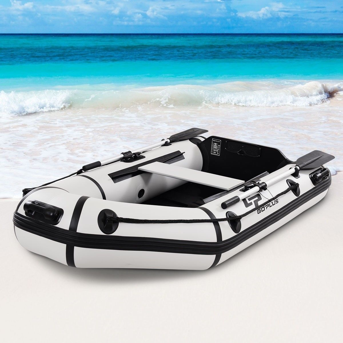 2 Person 7 5 Ft Inflatable Fishing Tender Rafting Dinghy Boat Dinghy Boat Inflatable Boat Dinghy