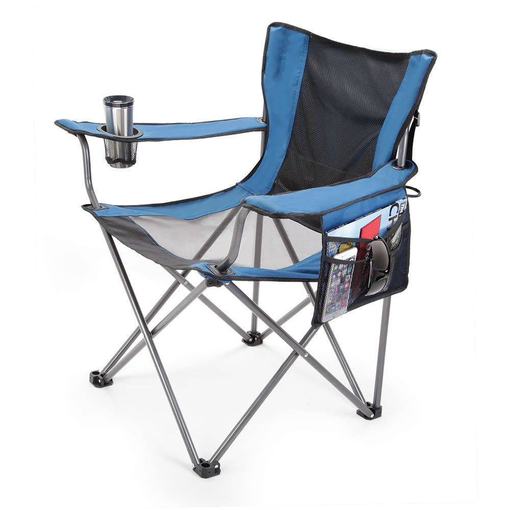 The Fan Cooled Portable Lawn Chair Ideal for beach trips