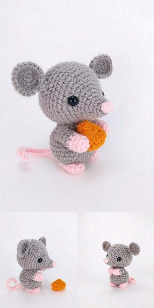 Amigurumi Grey Mouse Free Pattern – Amigurumi