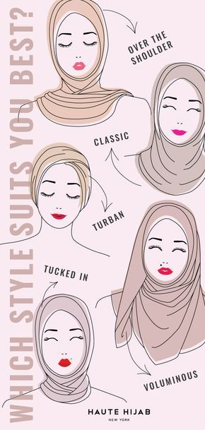 The Definitive Hijab Style Guide What's your signature hijab style? Head over to our Definitive Hijab Style Guide to find out!