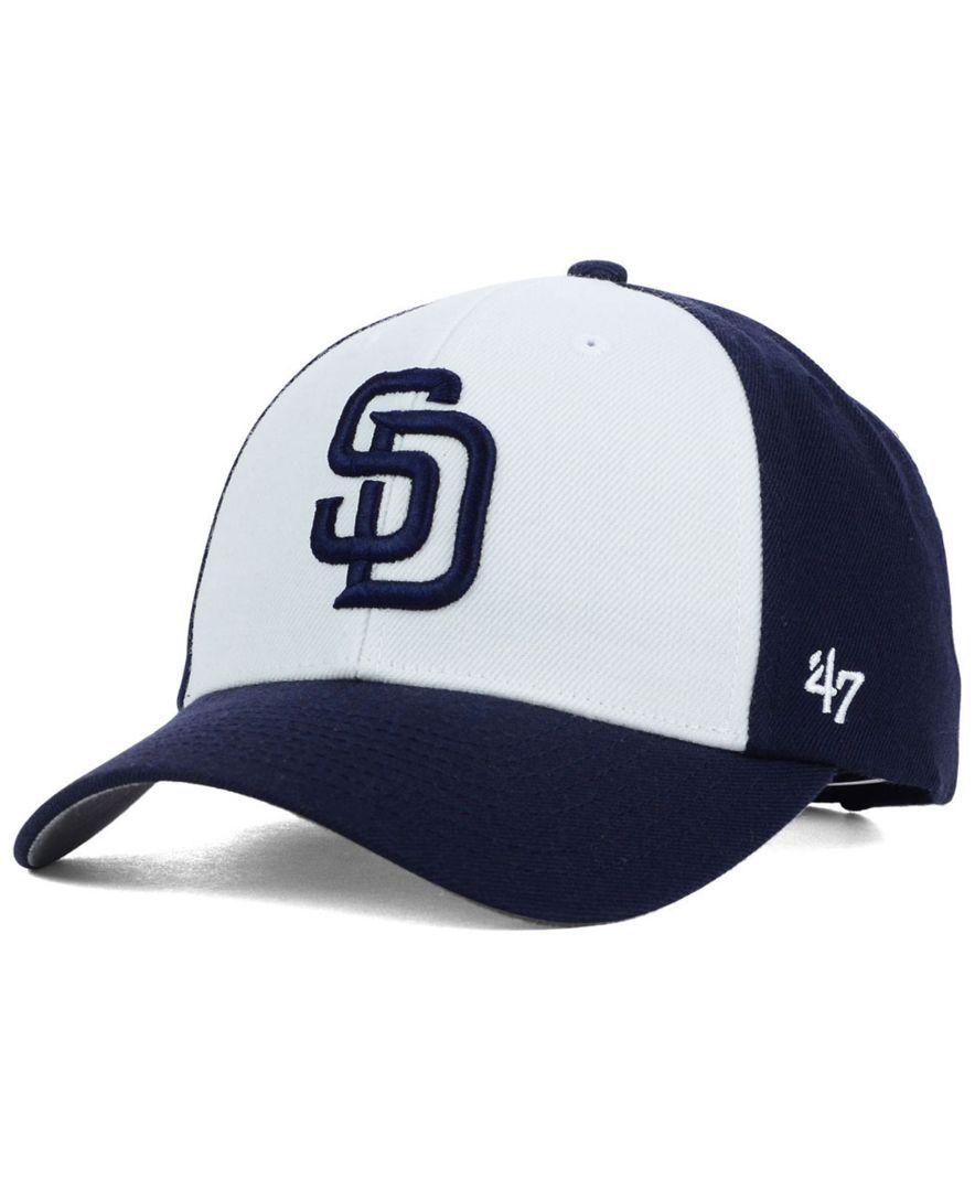 '47 Brand San Diego Padres Mvp Curved Cap