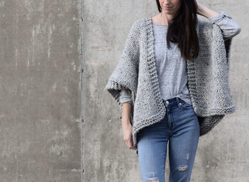 Telluride Easy Knit Kimono Pattern Knitting And Crocheting