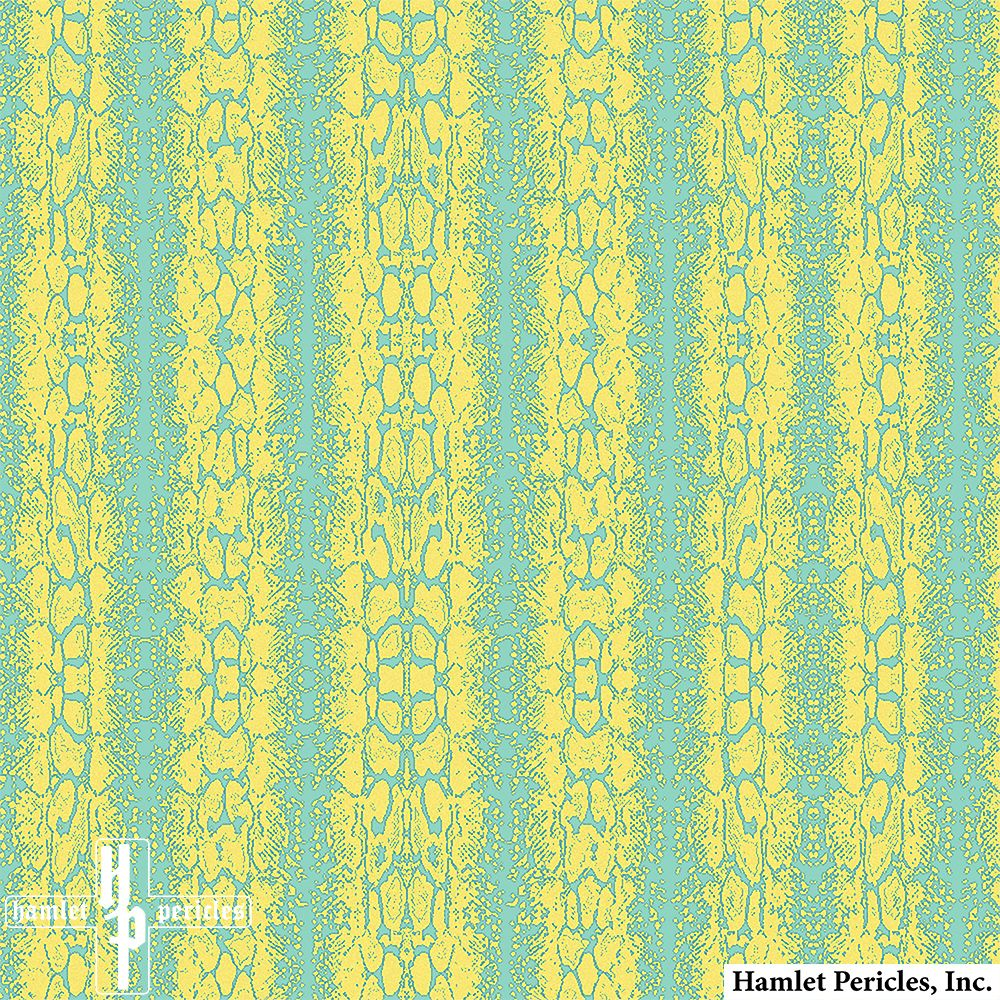 Snake Print 1b Textile via Hamlet Pericles, Inc. | Color Palette Challenge via @printedvillage | #Snake #SnakePrint #Geo #Geometric #Stripe #Stripes #Shapes #Hamlet #Pericles #HamletPericles