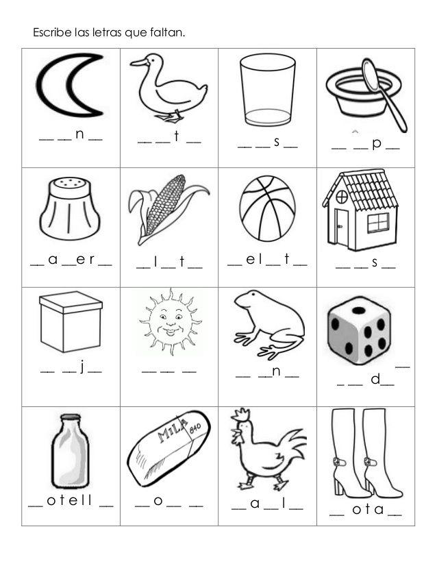 Excelente cuadernillo de trabajo silabicos alfabeticos-   Hojas para ...