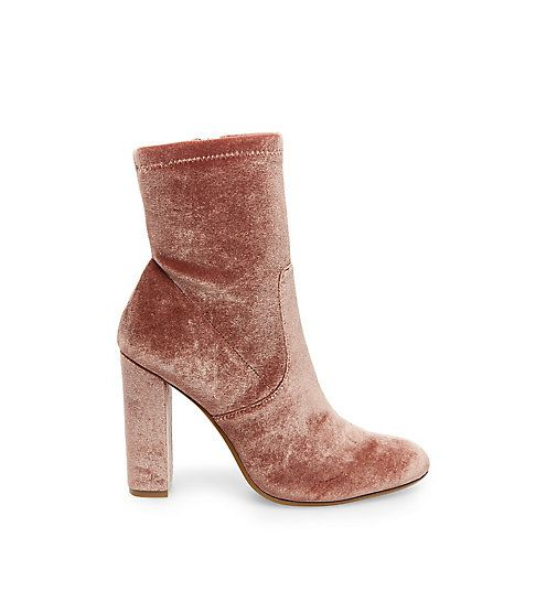 sexy womens round toe ankle boots platform high chunky heel zipper shoes  W@345