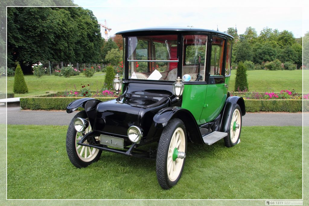 1907 Detroit Electric Model D Electric Cars Antique Cars
