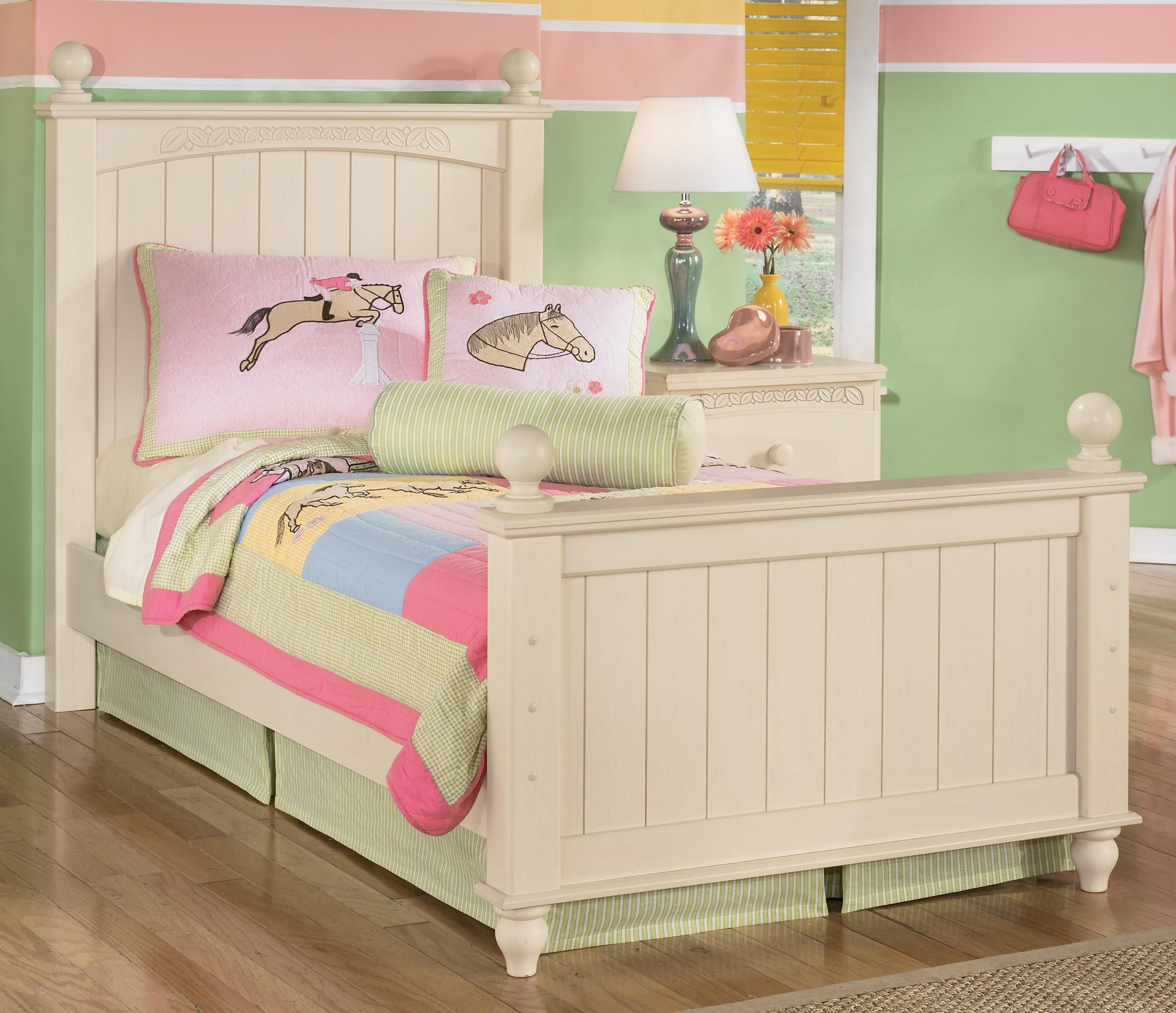 Cottage Retreat Twin Poster Bed by Signature Design by Ashley ...