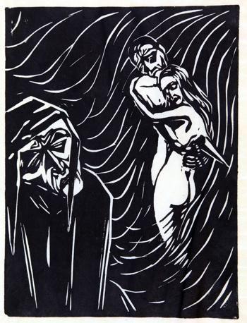 Klaus Wrage, Dante – Block – Buch, Freiburg 1925