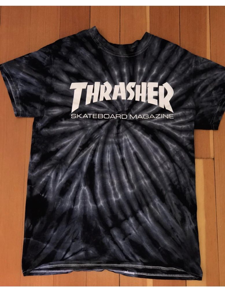 2b765c120d81 NWT Authentic Thrasher Skate Mag Spider Tie Dye T-Shirt #fashion #clothing  #shoes #accessories #mensclothing #shirts (ebay link)