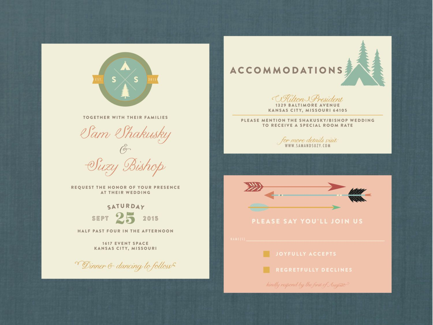 wes anderson style stationery - Google Search | Robinson Wedding ...