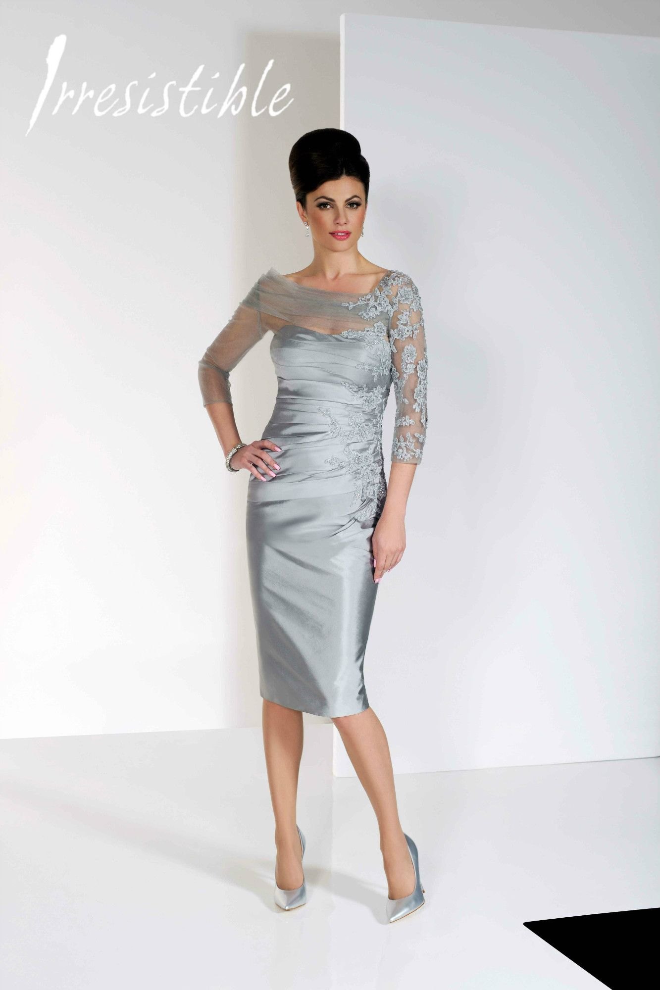 A gorgeous mother of the bride, mother of the groom or wedding guest ...