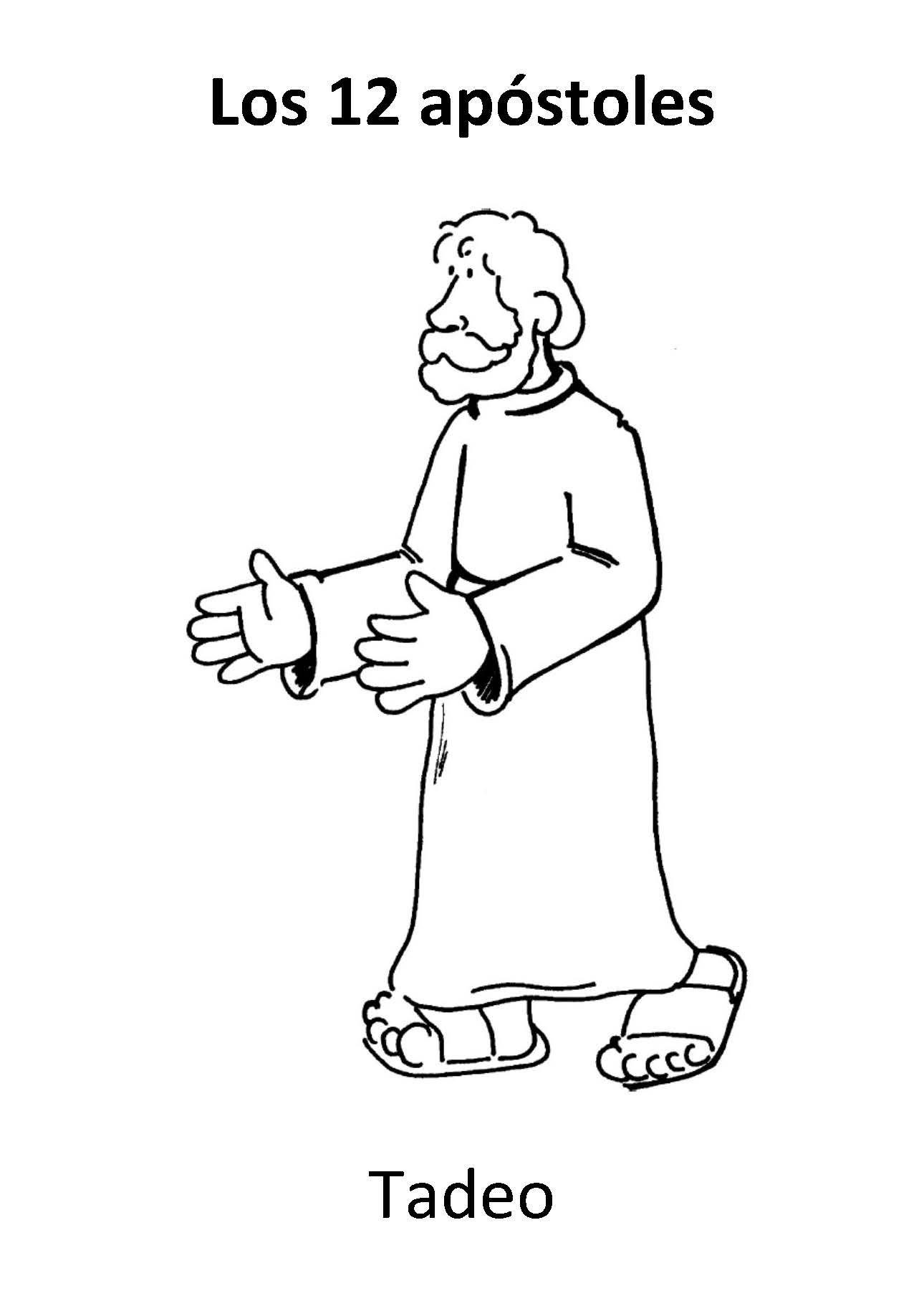 Tadeo More | Dibujos Biblicos | Pinterest | Bible, Sunday school and …
