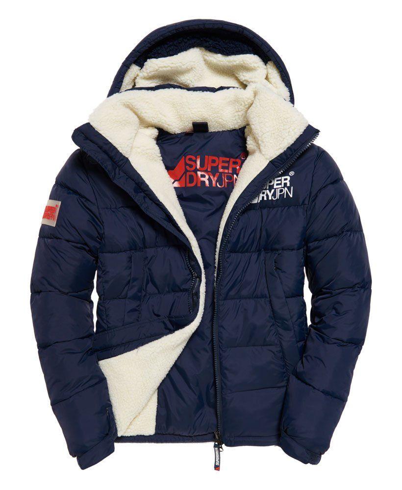 Superdry Mountain Mark Sherpa Coat Men S Jackets Mens Outfits Superdry Jacket Men Mens Jackets [ 1000 x 820 Pixel ]