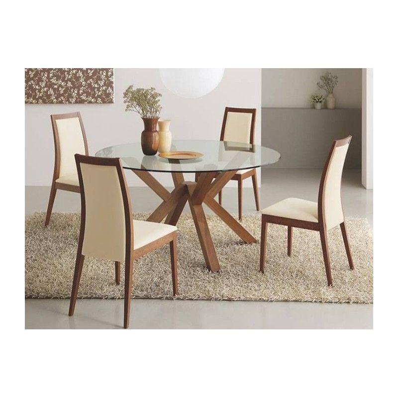 Moderno comedor modelo Valencia de Madera VIVA. | sillas | Dining ...