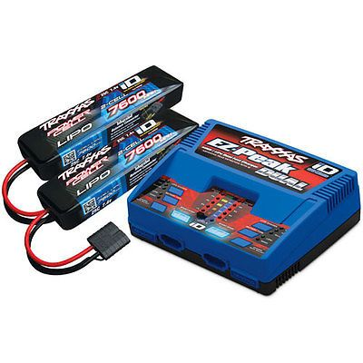 Traxxas 2991 Ez Peak Dual Charger And Battery Pack Includes Ez Peak Dual Charge Lipo Battery Traxxas Battery Charger