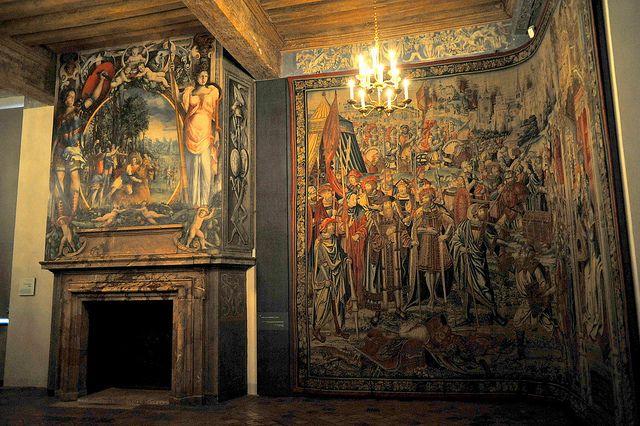 La chambre du roi ch teau d 39 ecouen val d 39 oise by philippe 28 via flickr david et bethsab e - Chambre des notaires val d oise ...