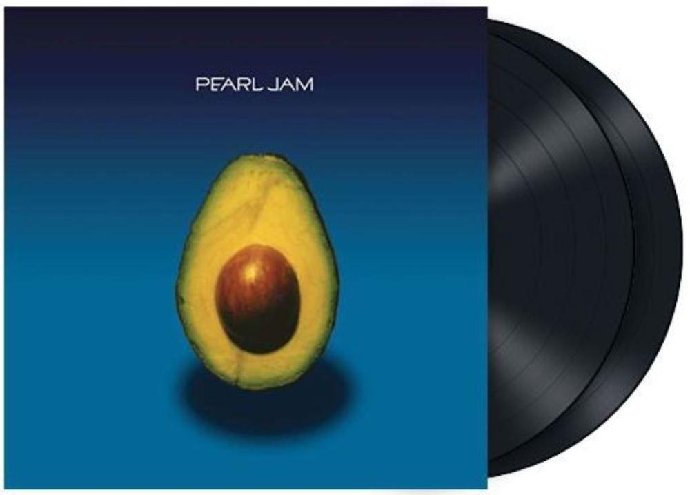 Pearl Jam Self Titled Avocado In Shrink Lp Vinyl Record Album Vinyl Records Lps Vinylrecords Stores Eba Vinyl Records Record Album Vinyl Record Album