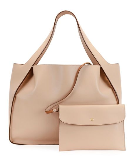 Stella McCartney Alter East-West Perforated Tote Bag d0sPnlQa