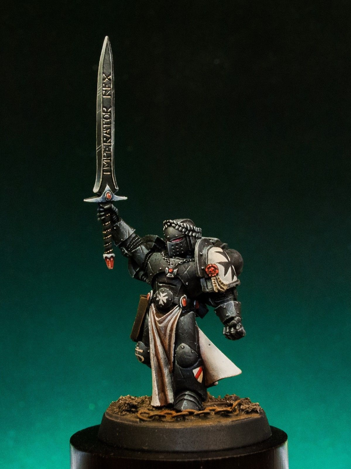 Details about Black Templars The Emperor`s Champion of Space