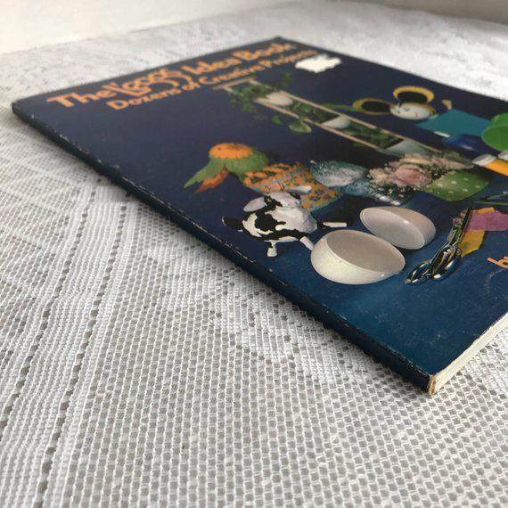 Vintage Paperback Craft Book L Eggs Idea Book Dozens Of Creative