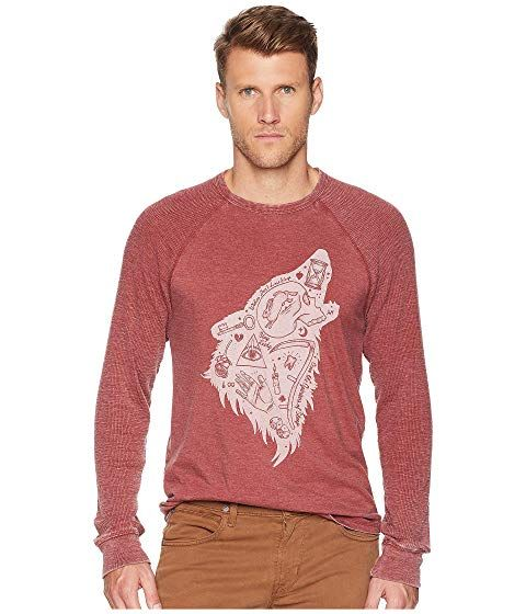 172fdf5116 LUCKY BRAND Wolf Dreams Thermal Tee