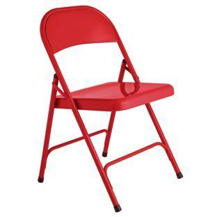 Sensational Buy Habitat Macadam Red Metal Folding Chair At Argos Co Uk Alphanode Cool Chair Designs And Ideas Alphanodeonline