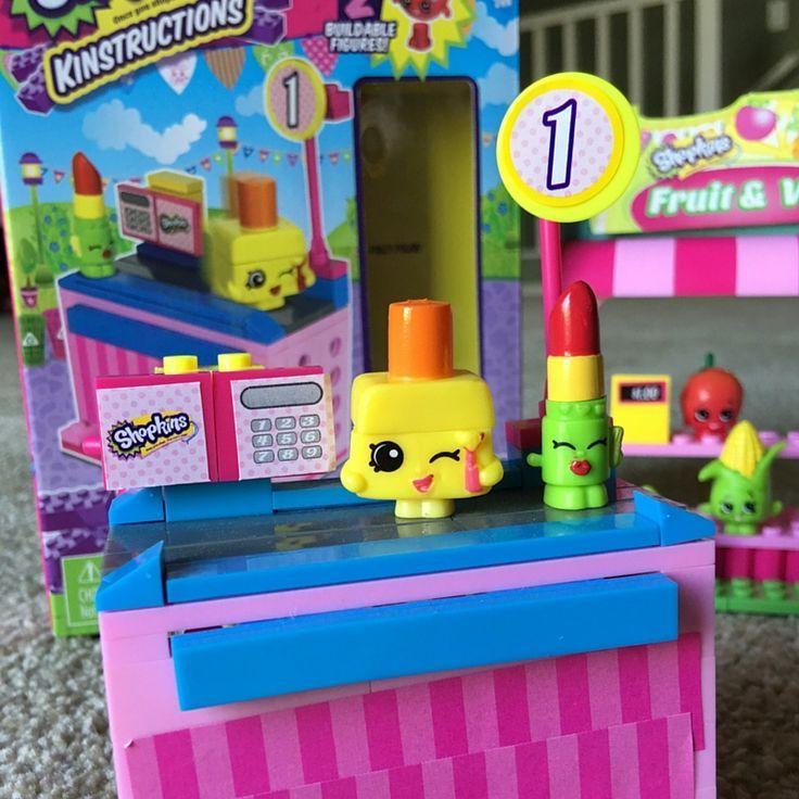 The Shopkins KINSTRUCTIONS Checkout Lane Style 2 | Top toys ...