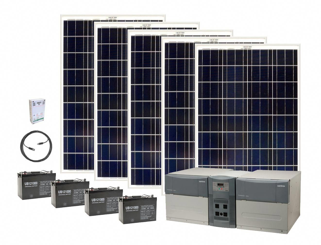 120 Volt Solar Power Generator Kits Earthtech Products Solargenerator Solar Power House Solar Panels Solar Heating