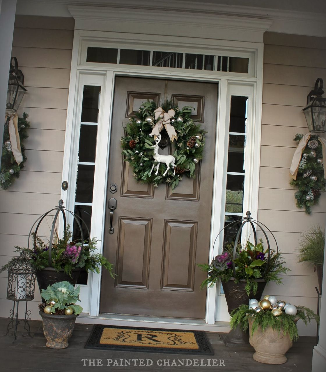 Christmas porch tour the painted chandelier blog christmas christmas porch tour the painted chandelier blog arubaitofo Image collections