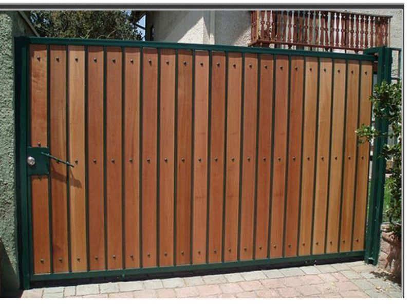 Portones de madera buscar con google projects to try for Puertas y portones de madera