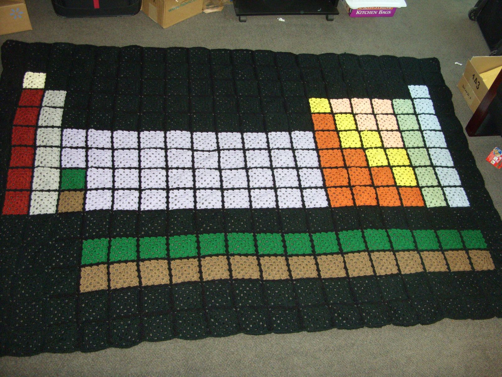 Have You Ever Seen Such A Snuggly Periodic Table Crochet Geek