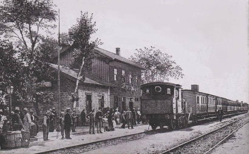 Yeşilköy Tren İstasyonu / 1912 http://ift.tt/2a8kcM9