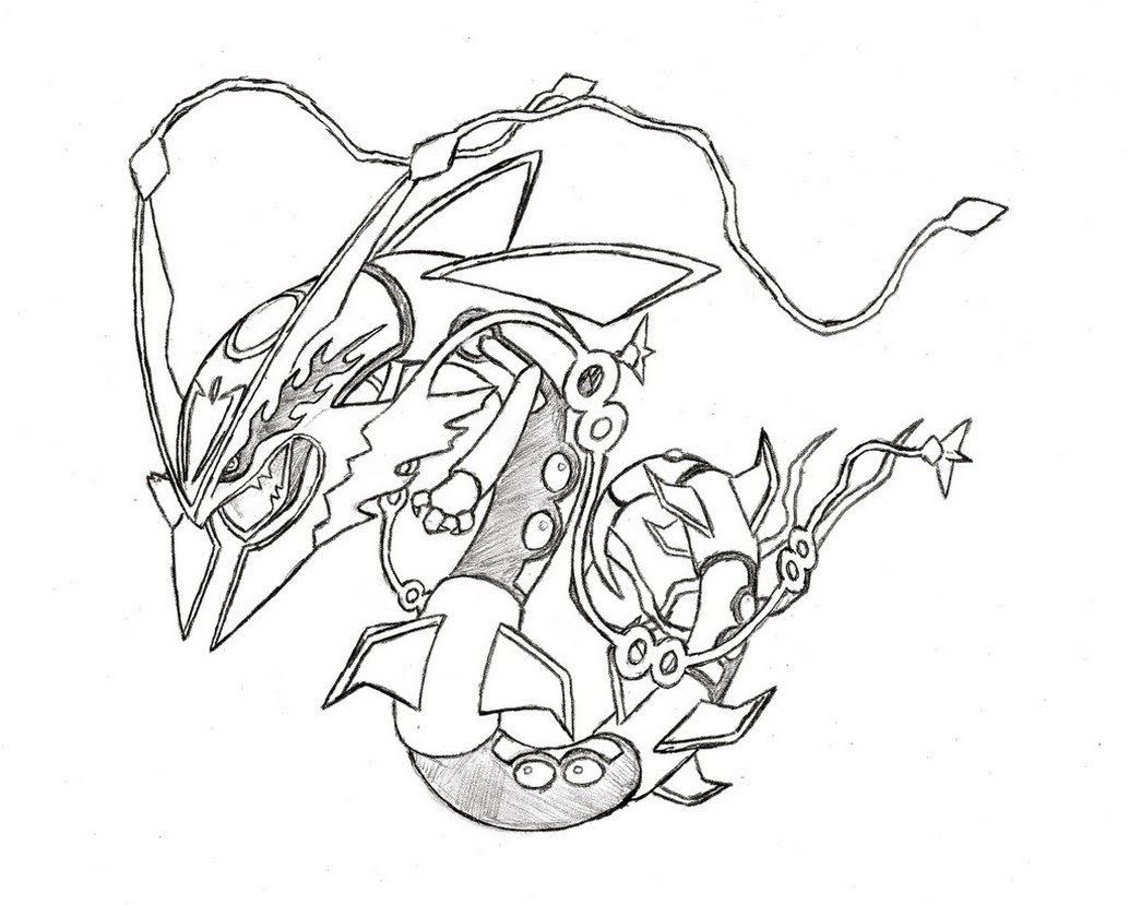 Legendary Pokemon Mega Rayquaza Drawing In 2020 Pokemon Coloring Pages Pokemon Coloring Cartoon Coloring Pages