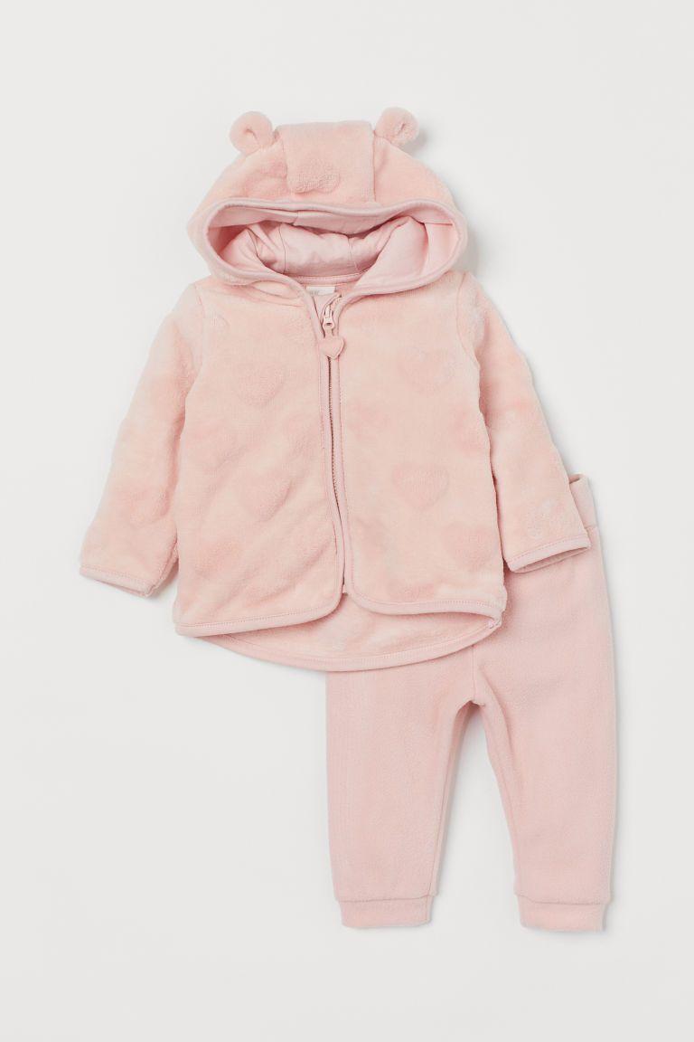 Jacket and Pants   Light pink   Kids   H&M CA   Neugeborene ...