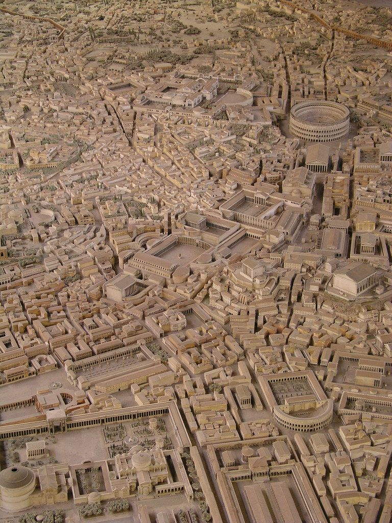Archeologist Spends Over 35 Years Building Enormous Scale Model Of Ancient Rome Ancient Rome Rome Roman Empire