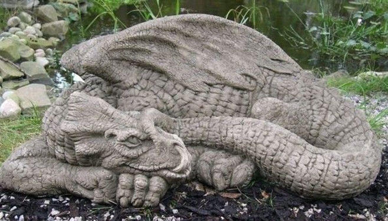 Wonderful Stone Dragon Garden Statue