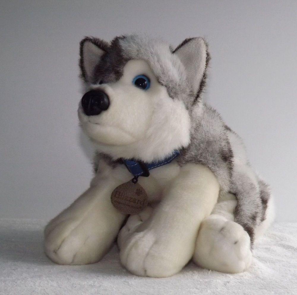 Blizzard Husky Dog Soft Toy By Keel Toys Kids Childrens Girls