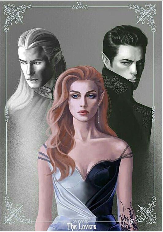 Feyre, Rhysand & Tamlin #feyreandrhysand
