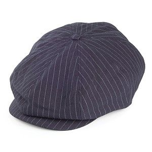Brixton Hats Brood Newsboy Cap - Navy