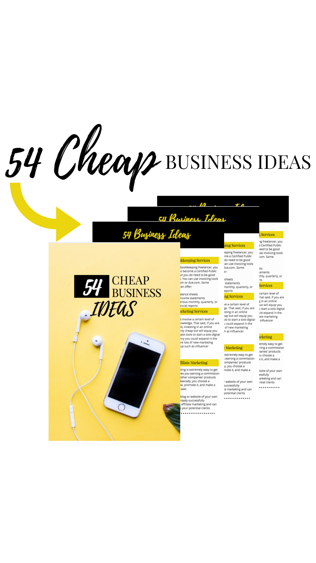 54 Cheap Business Ideas To Help Get You Started In Your