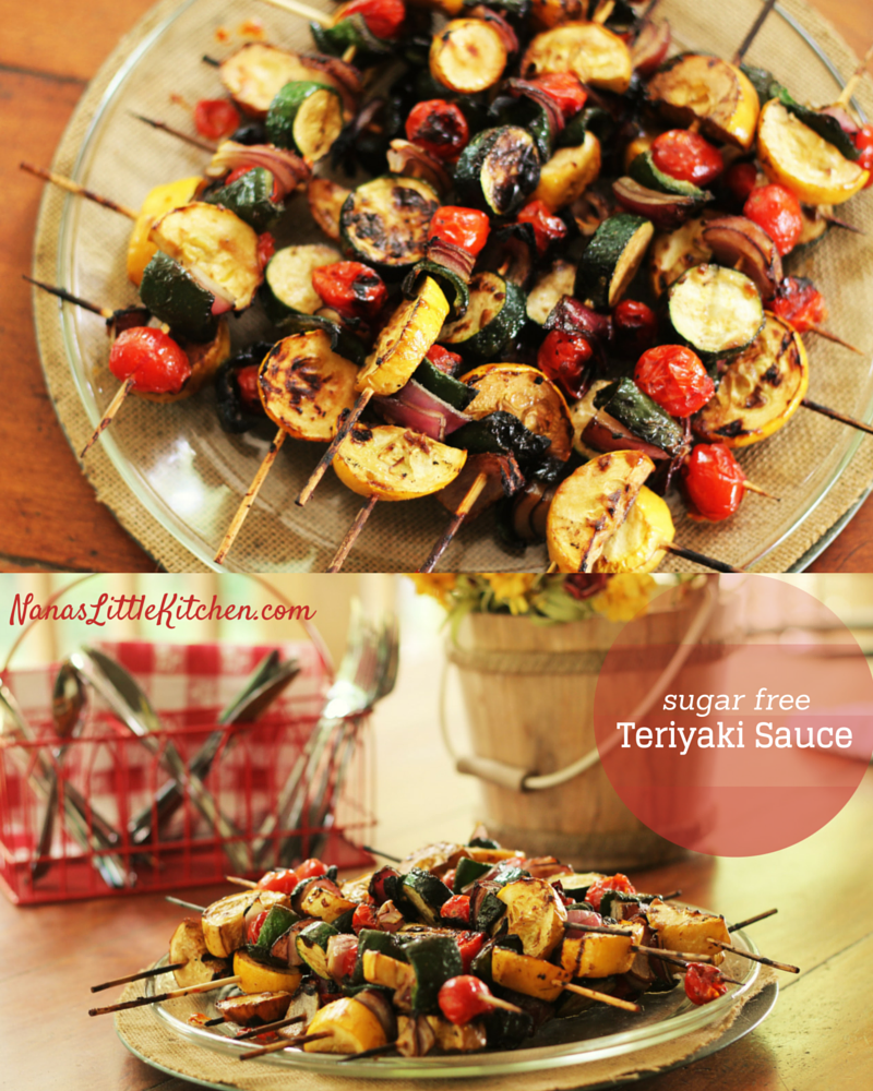 Easy Grilled Teriyaki Chicken Kebobs: Grilled Teriyaki Kabobs With Garlic And Ginger And