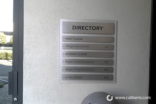 Office Directory Signage Site Signs Office Signage