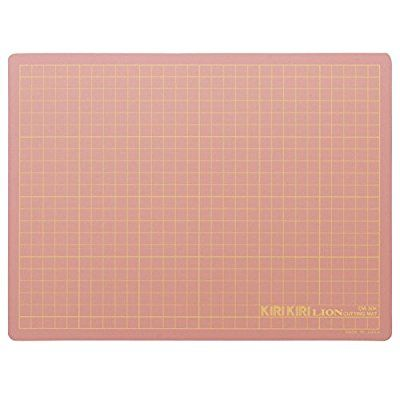 Bureau Lion tapis de coupe CM-30K rose / 25700 (japon importation)