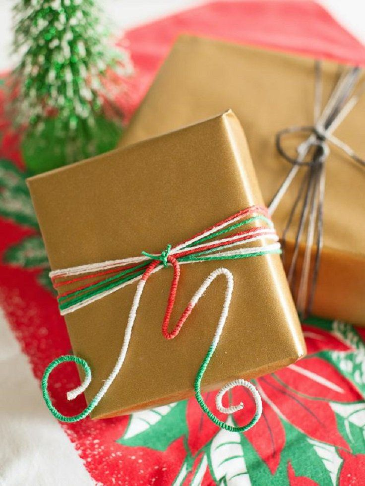 Diy Christmas Gift Wrapping Ideas Part - 20: Top 10 DIY Christmas Gift-Wrapping Ideas