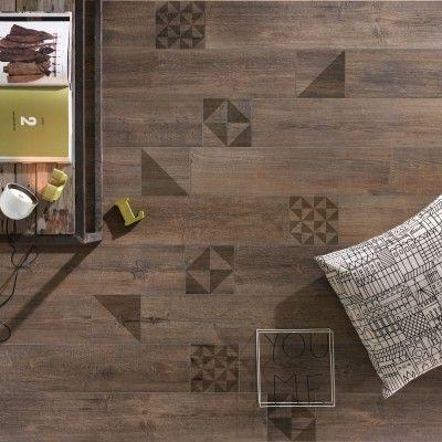 Piastrelle in gres porcellanato effetto legno Bio Lumber di Lea ...