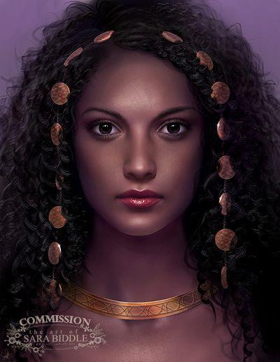 Commission: Kamshac by mckadesinsanity on deviantART ~ female beauty digital art
