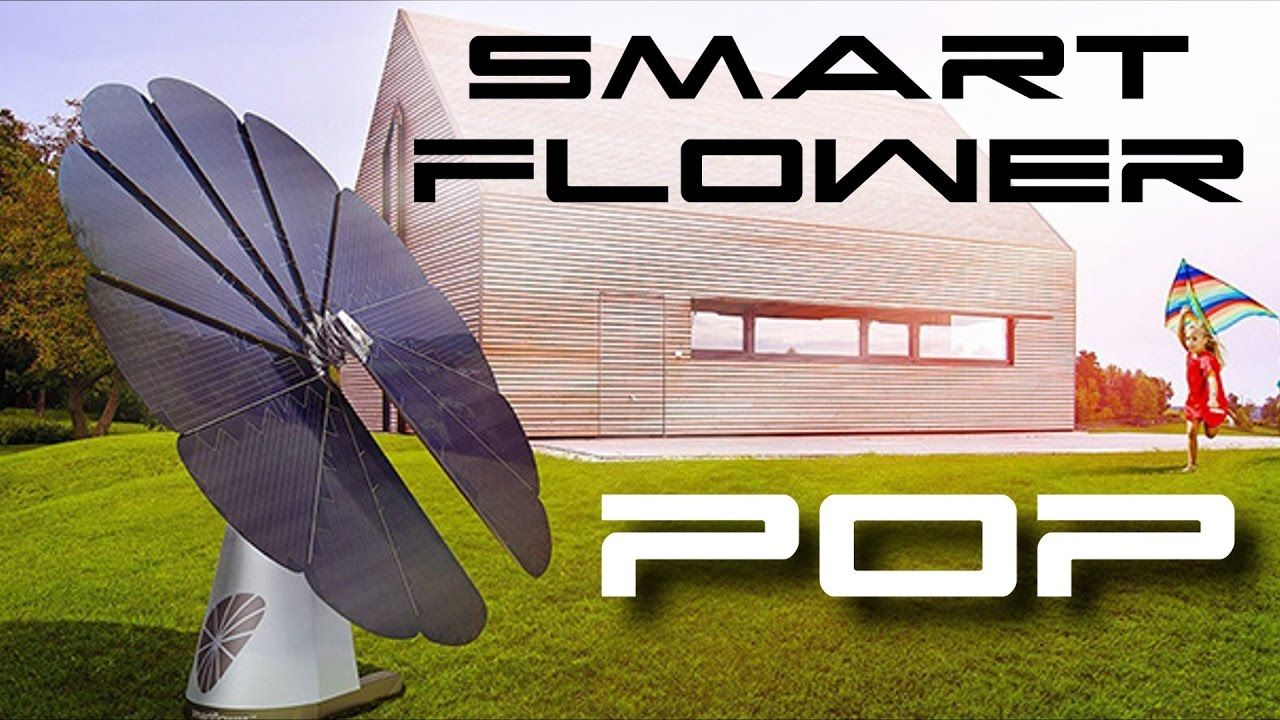 Smartflower Pop All In One Solar System Inventions New