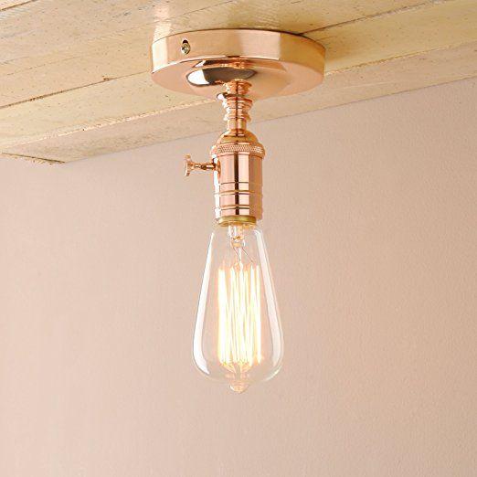 Kupfer Farbe pathson wandbeleuchtung wandleuchten vintage industrie loft